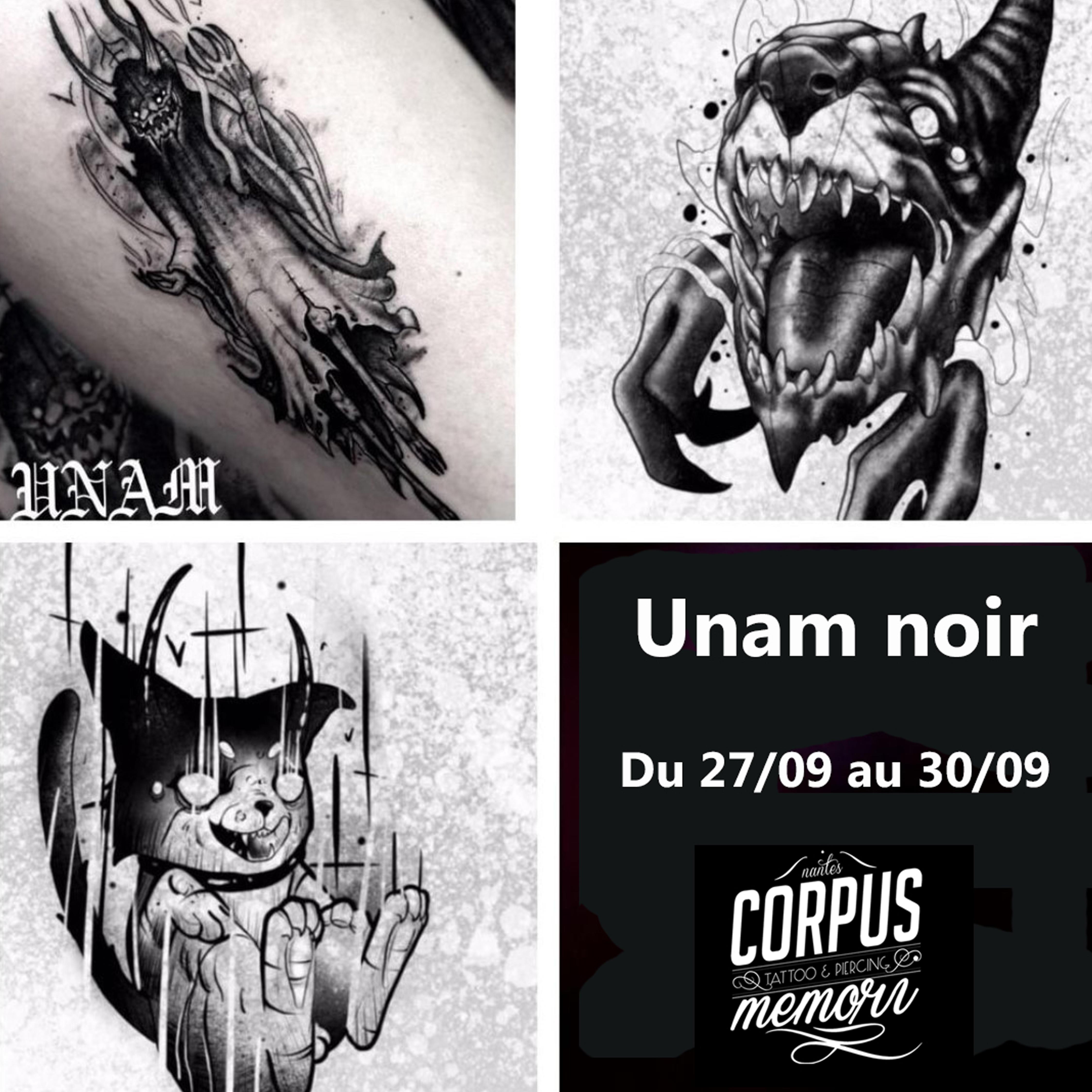 Unam Noir - Du 27 Sept au 30 Sept